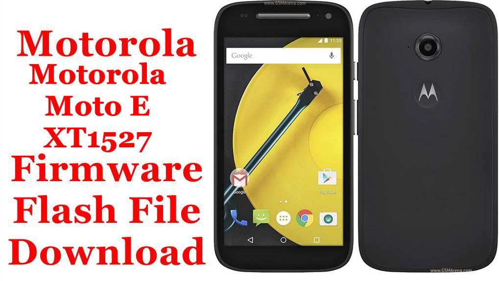 Motorola Moto E XT1527