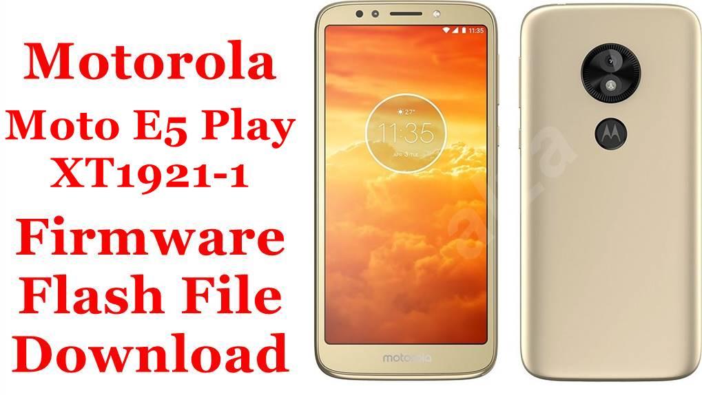 Motorola Moto E5 Play XT1921-1