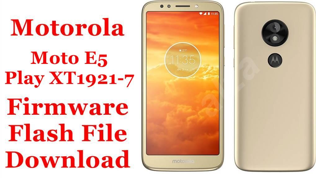 Motorola Moto E5 Play XT1921-7