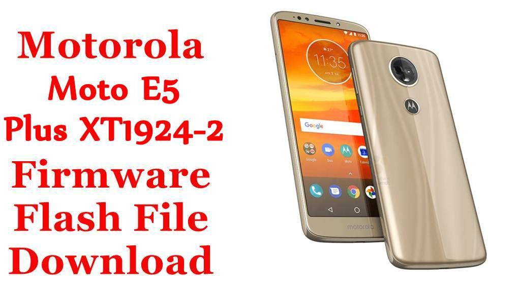 Motorola Moto E5 Plus XT1924-2