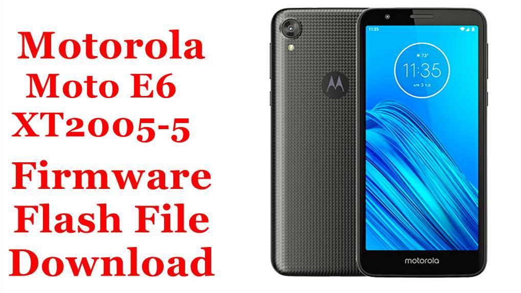 Motorola Moto E6 XT2005 5