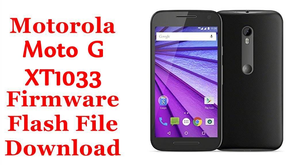 Motorola Moto G XT1033