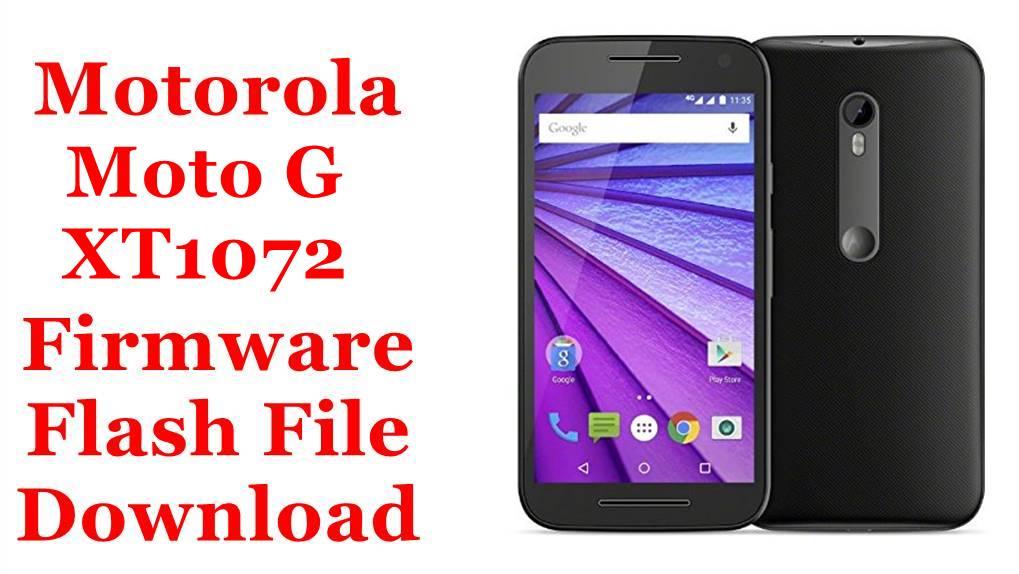 Motorola Moto G XT1072