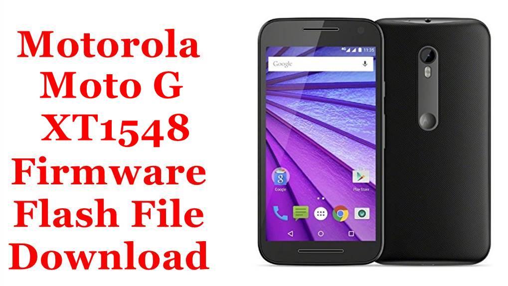 Motorola Moto G XT1548