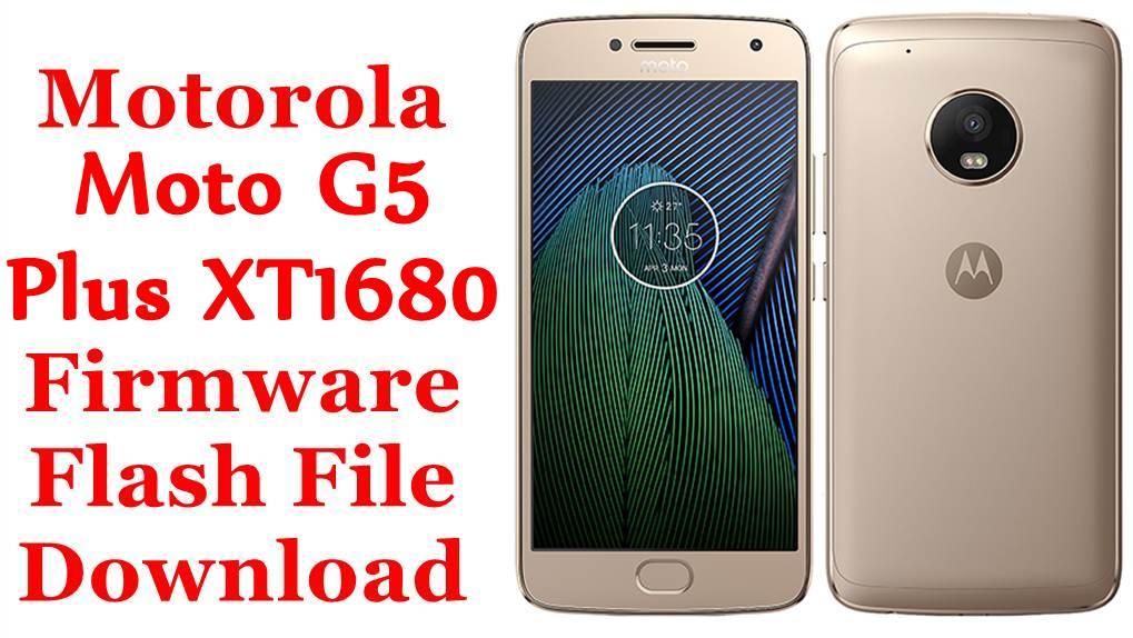 Motorola Moto G5 Plus XT1680