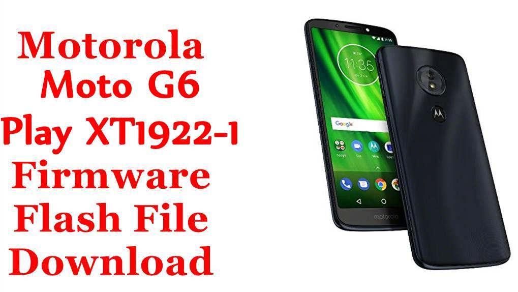 Motorola Moto G6 Play XT1922-1