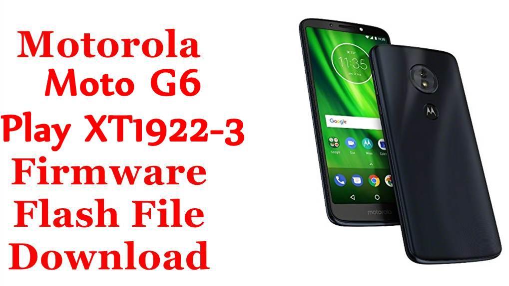 Motorola Moto G6 Play XT1922-3