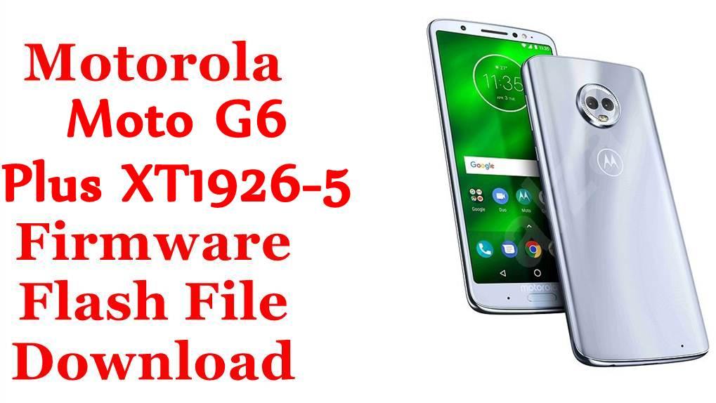 Motorola Moto G6 Plus XT1926-5