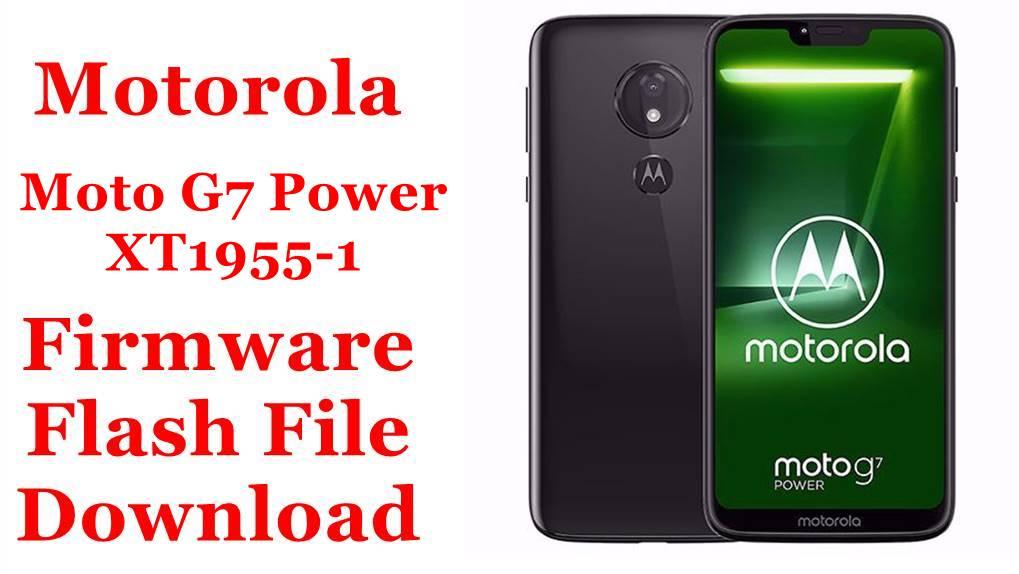 Motorola Moto G7 Power XT1955 1