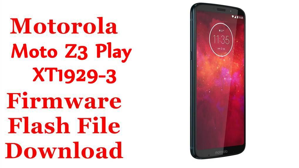 Motorola Moto Z3 Play XT1929-3