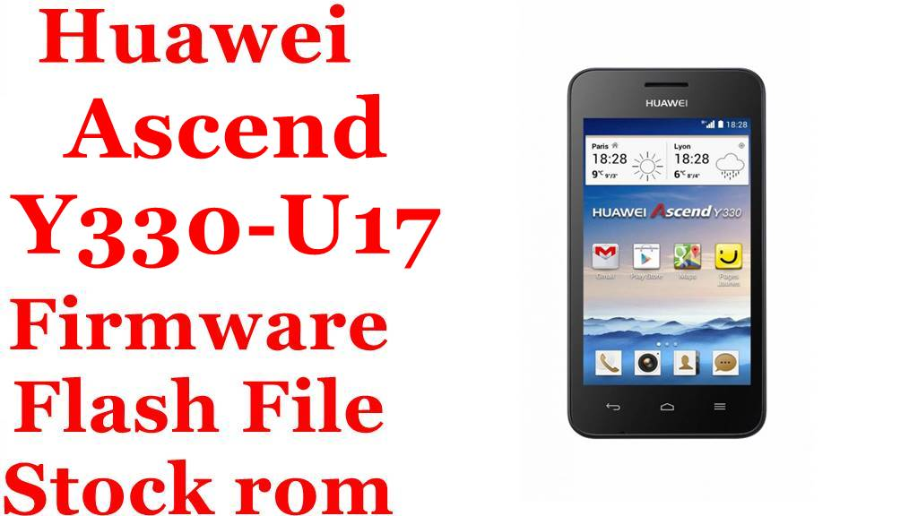 Huawei Ascend Y330 U17