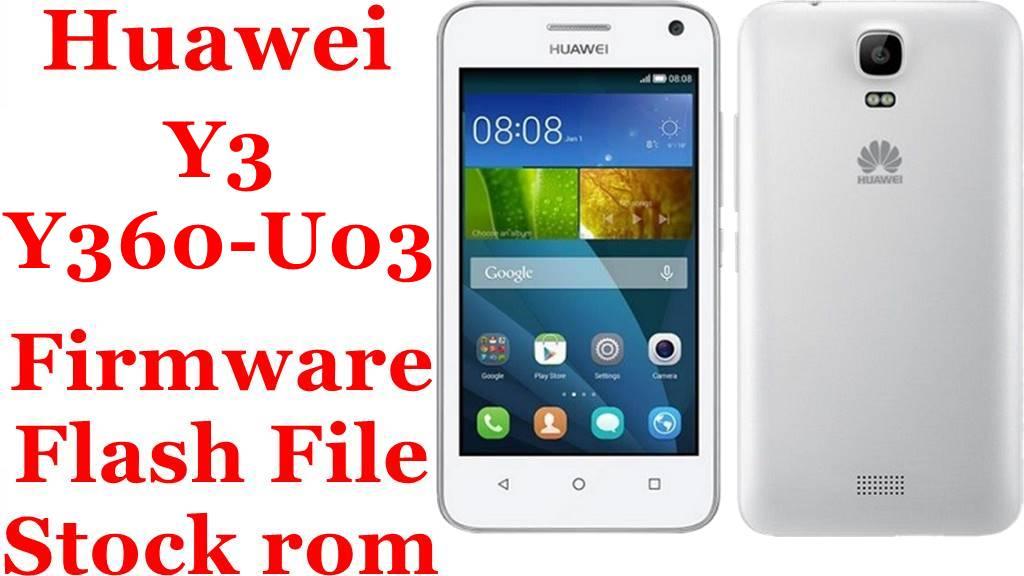Huawei Y3 Y360 U03