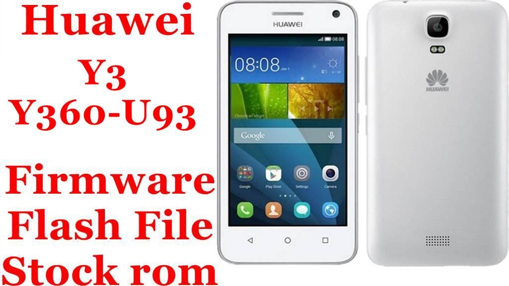 Huawei Y3 Y360 U93