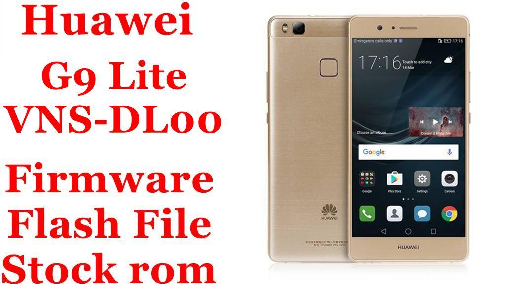 Huawei G9 Lite VNS DL00