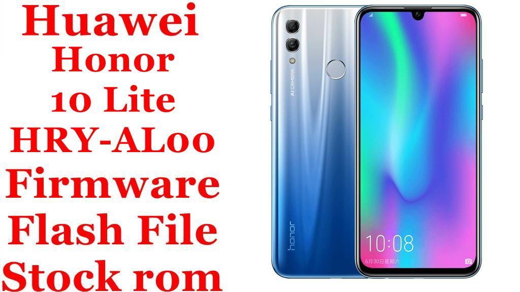 Huawei Honor 10 Lite HRY AL00