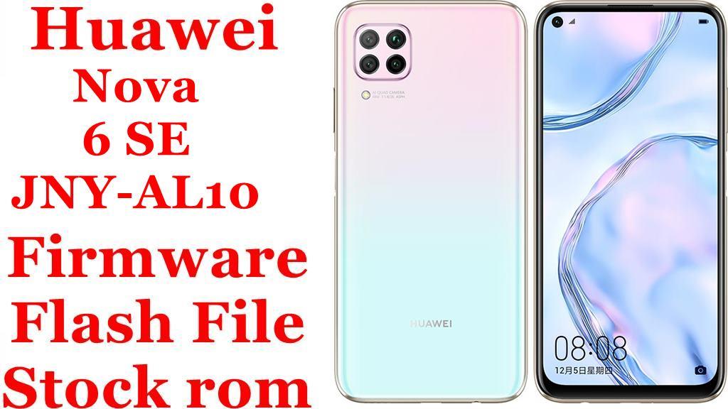 Huawei Nova 6 SE JNY AL10