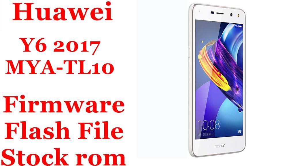 Huawei Y6 2017 MYA TL10