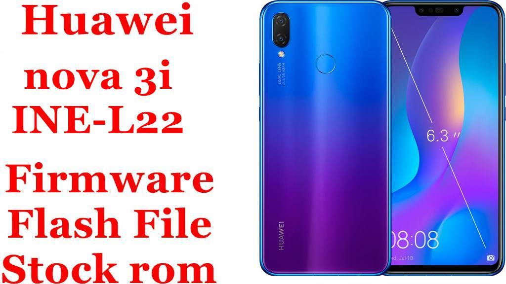 Huawei nova 3i INE L22