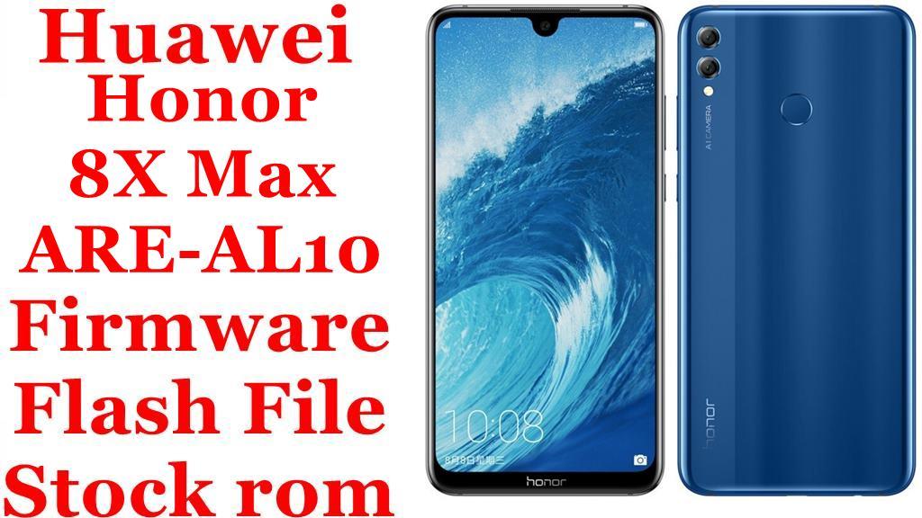 Huawei Honor 8X Max ARE AL10