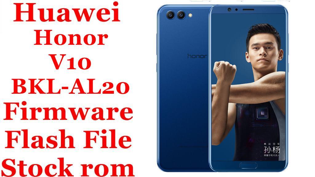 Huawei Honor V10 BKL AL20