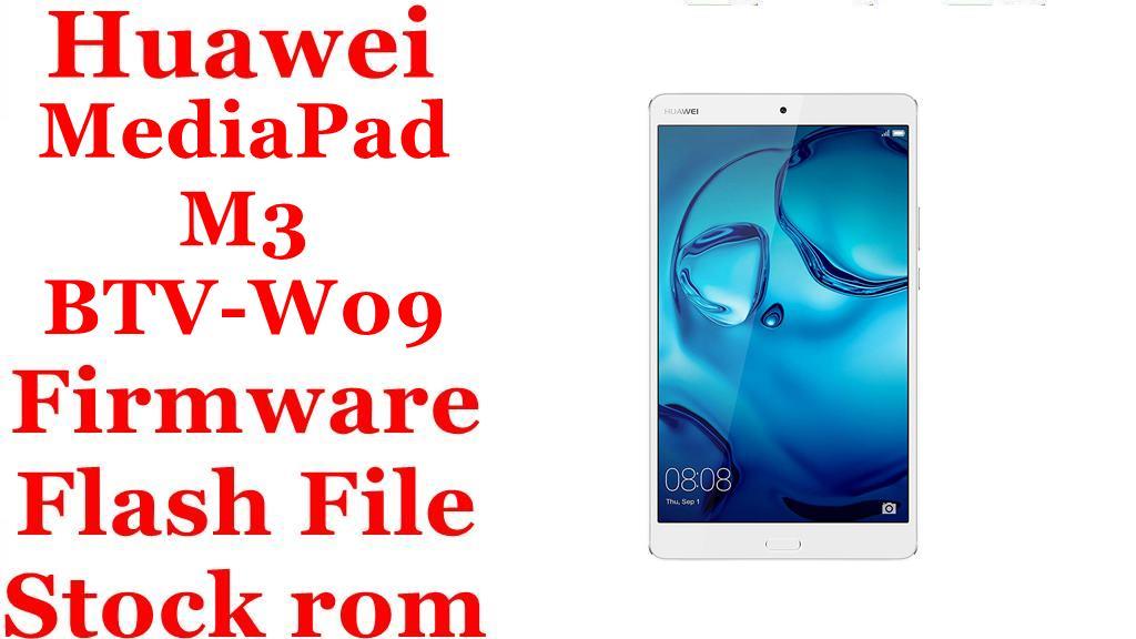 Huawei MediaPad M3 BTV W09