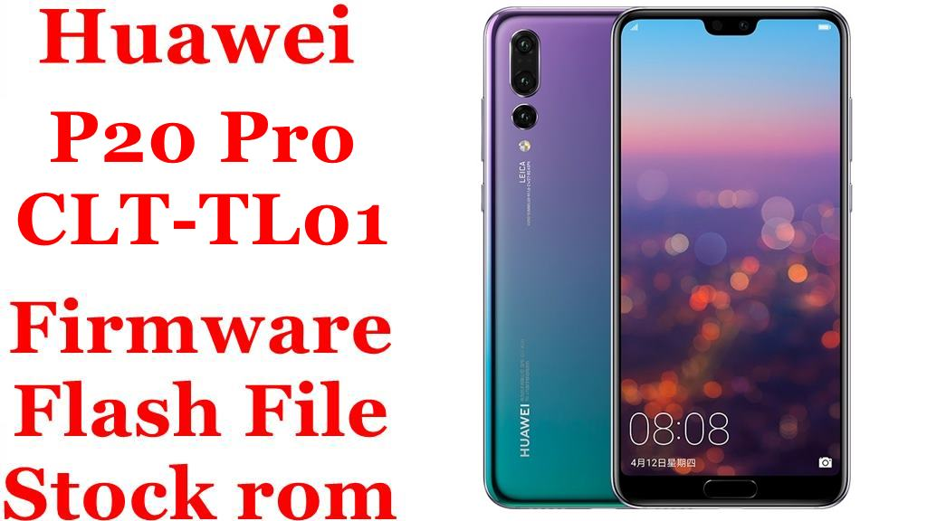 Huawei P20 Pro CLT TL01