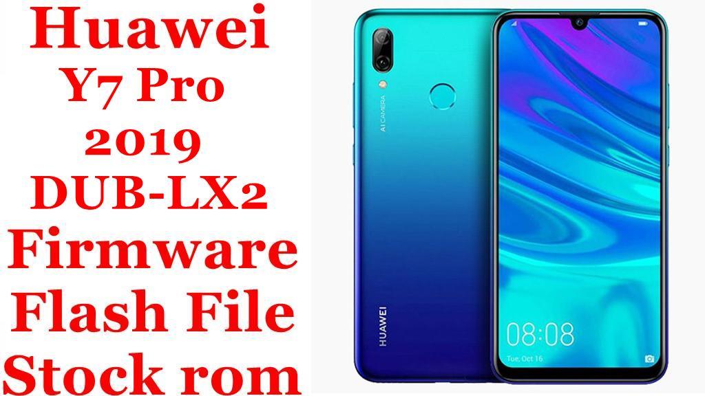 Huawei Y7 Pro 2019 DUB LX2