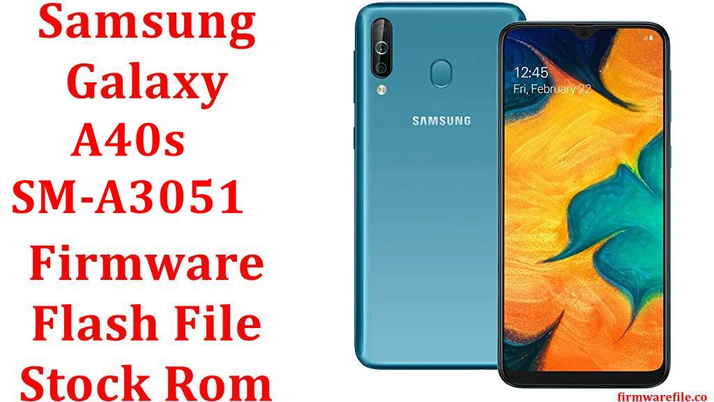 Samsung Galaxy A40s SM A3051