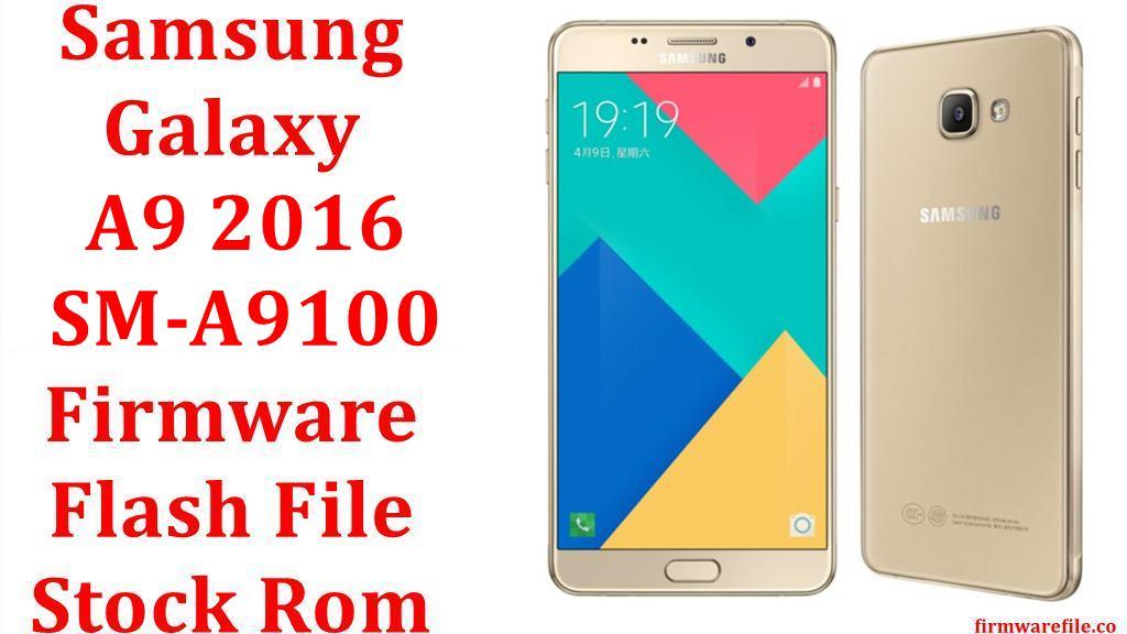 Samsung Galaxy A9 2016 SM A9100