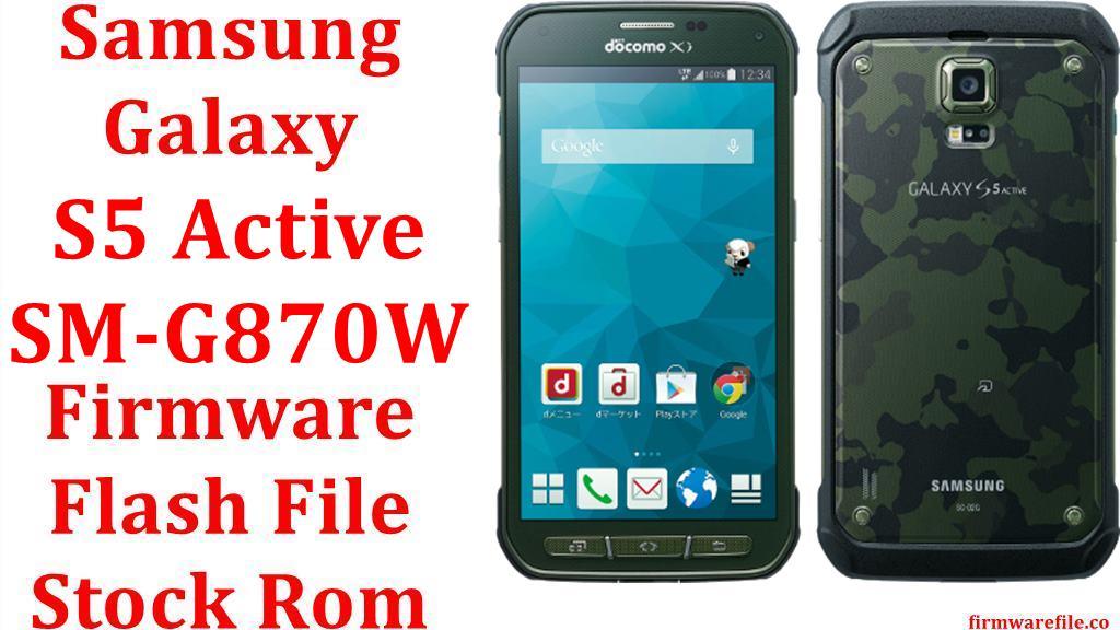 Samsung Galaxy S5 Active SM G870W