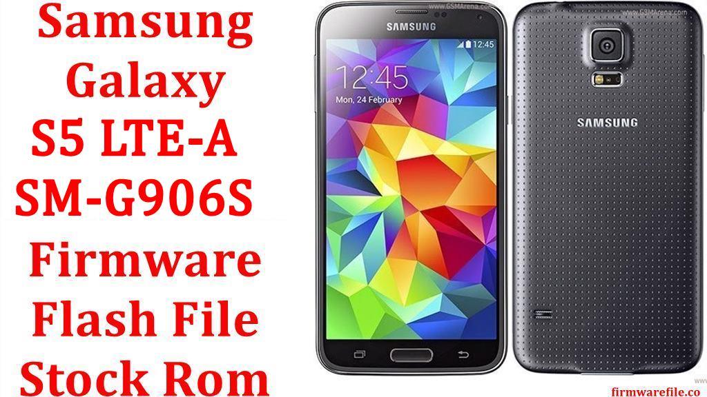 Samsung Galaxy S5 LTE A SM G906S