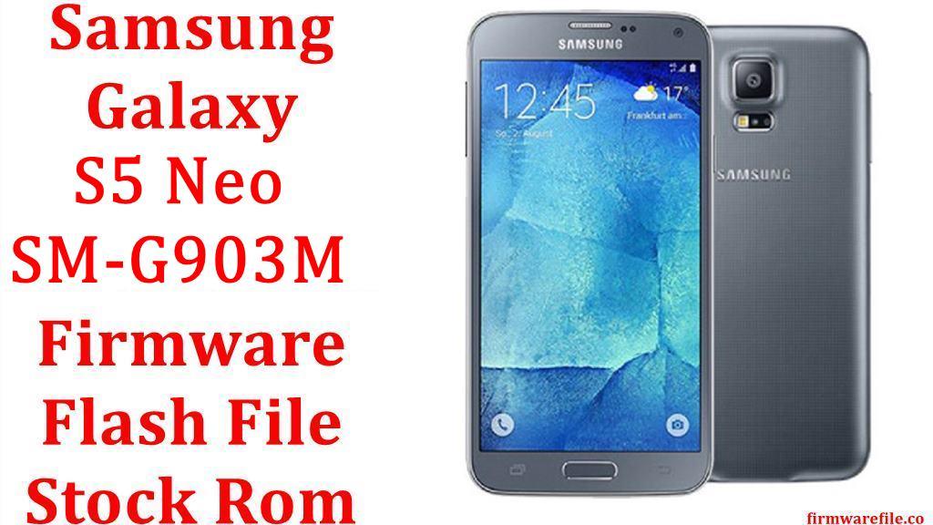 Samsung Galaxy S5 Neo SM G903M