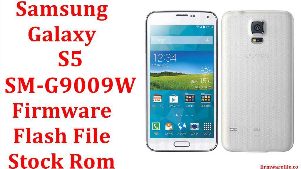 Samsung Galaxy S5 SM G9009W