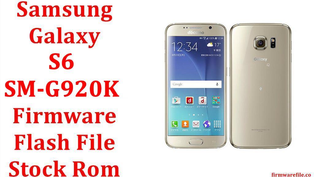 Samsung Galaxy S6 SM G920K
